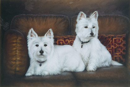 White Dogs - Leroy & Tandy Mitchell Collection (owners of Cinemark)